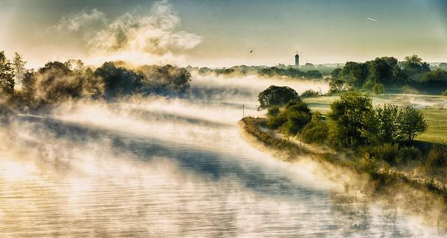 Fog above the Danube