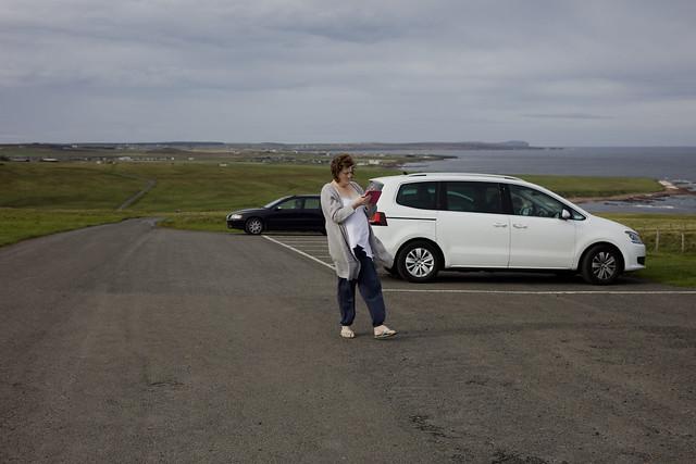 Toni, Duncansby Head, Caithness, Scotland, 25/9/2018.