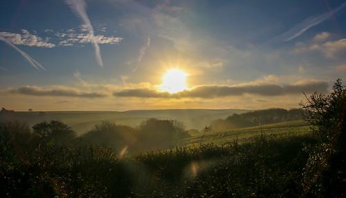 andygocher canon100d canon100dsigma18250 sigma18250 europe uk wales southwales pembrokeshire countryside landscape clouds cloudsstormssunsetssunrises cloudscape lens flare