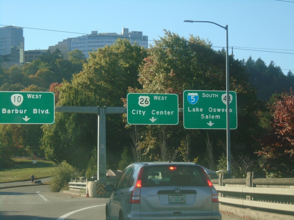 US-26 West at I-5/OR-10/OR-43 in Portland | US-26 West at I-… | Flickr