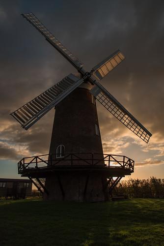 wiltonwindmill windmill windmills wiltshire sunset clouds england uk nikon d810