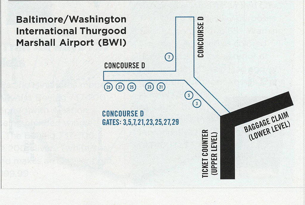Airtran Airways Route Map on