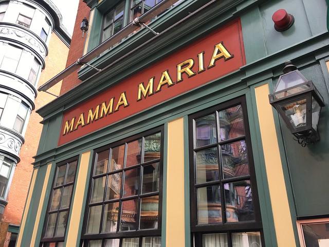 Mama Maria Restaurant, Boston