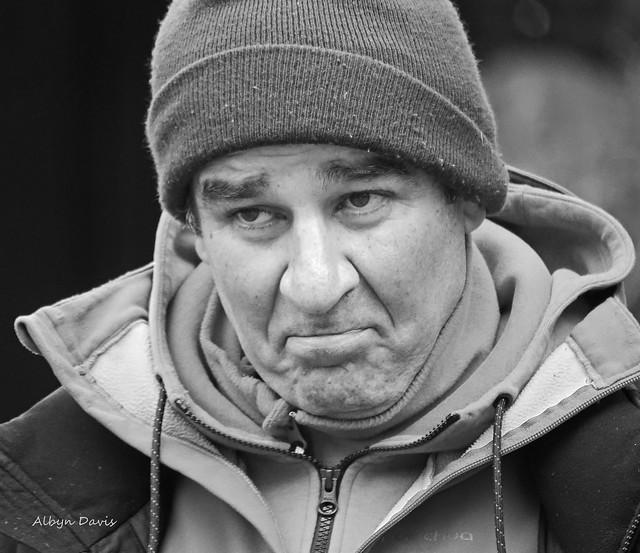 faces of Montmartre-3 b&w