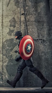 Captain America in action! | by Anindo Rudro