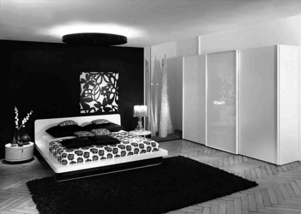 Simple Black And White Bedroom Ideas