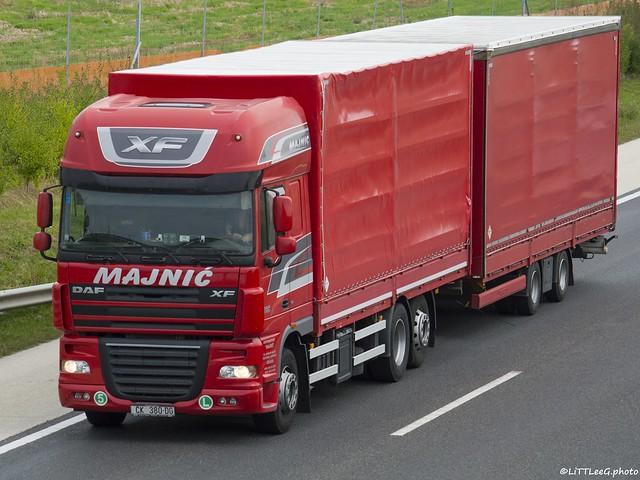 DAF XF105 SSC Majnic (HR)