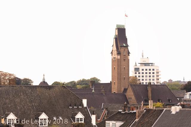 Toren Oud Gouvernement aan de Bouillonstraat in Maastricht