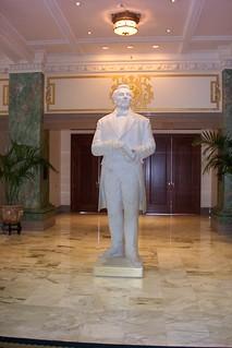 Salt Lake City - Utah - Marble Statue - Joseph Smith - Lat