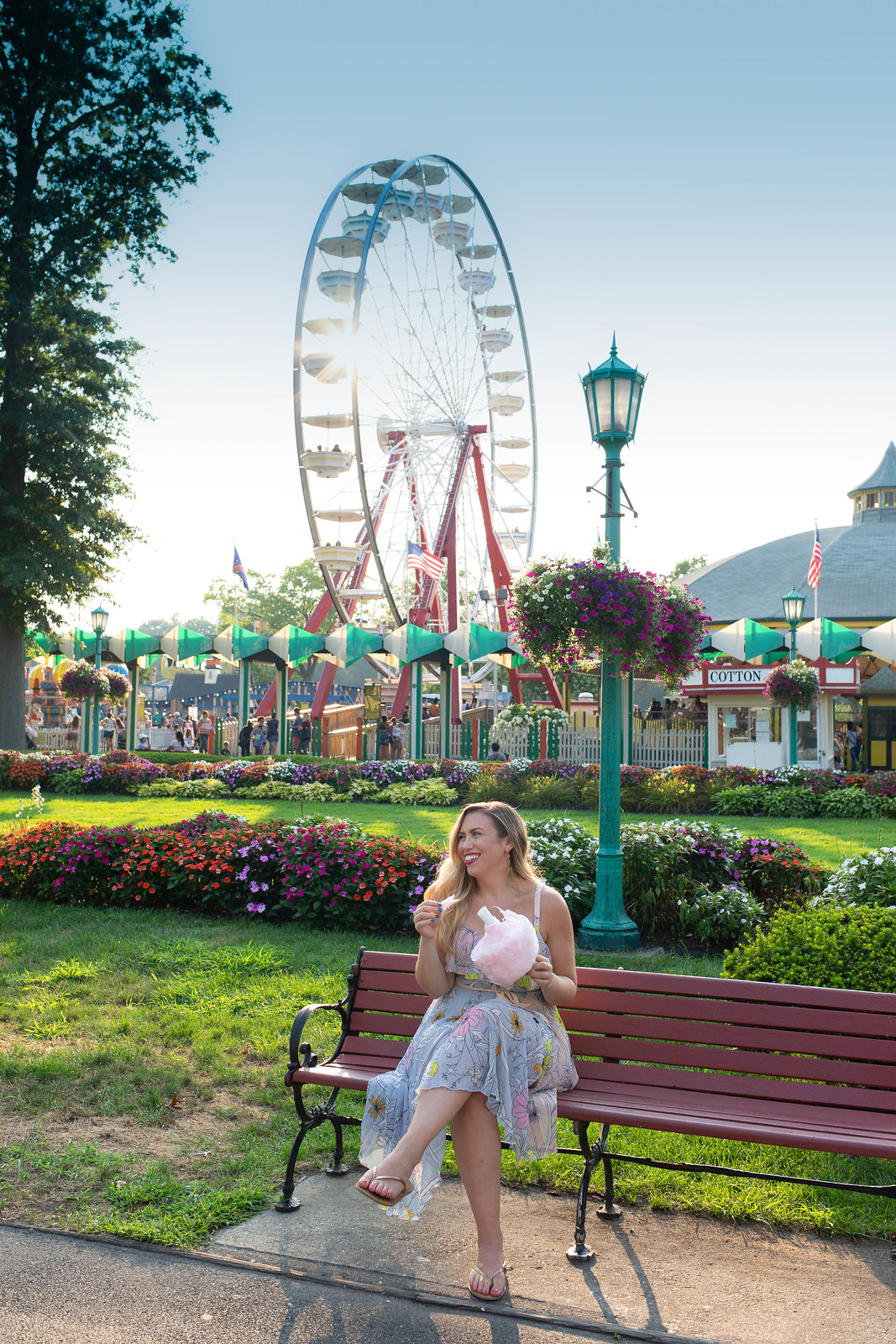 Playland Park Cotton Candy Ferris Wheel Most Instagrammable Places in Westchester County New York