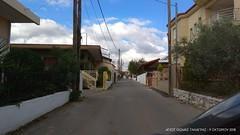Road view at Agios Thomas Tanagras