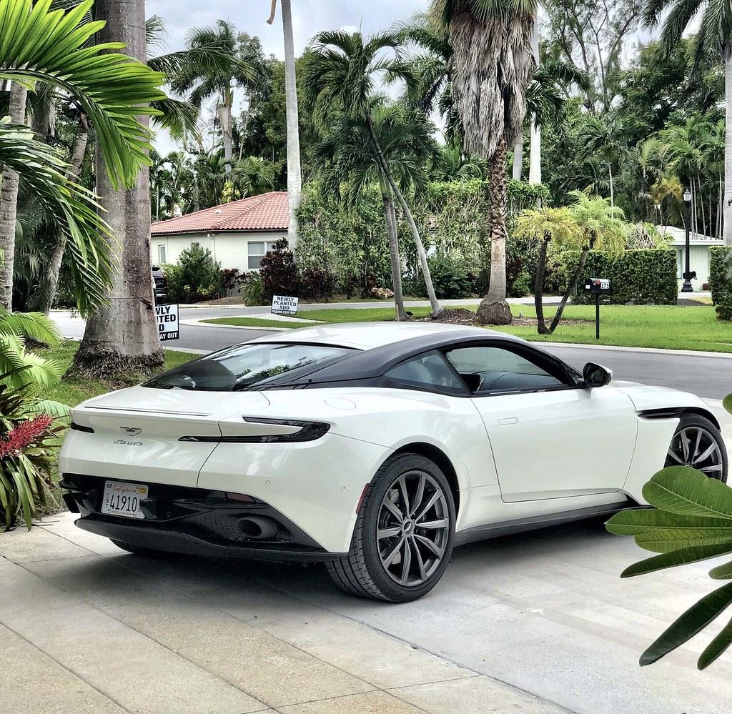 2019 Aston Martin DB11 V8 Coupe: Miami Lifestyle