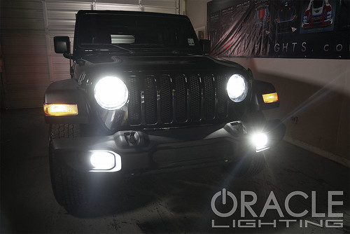 Jeep JL LED Headlight Bulb Upgrade | by ORACLE LIGHTING