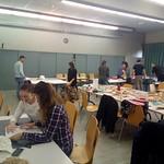 Dalla bidimesnionalità alla tridimensionalità della carta. La piega come strumento di design. SUPSI, Lugano. Switzerland