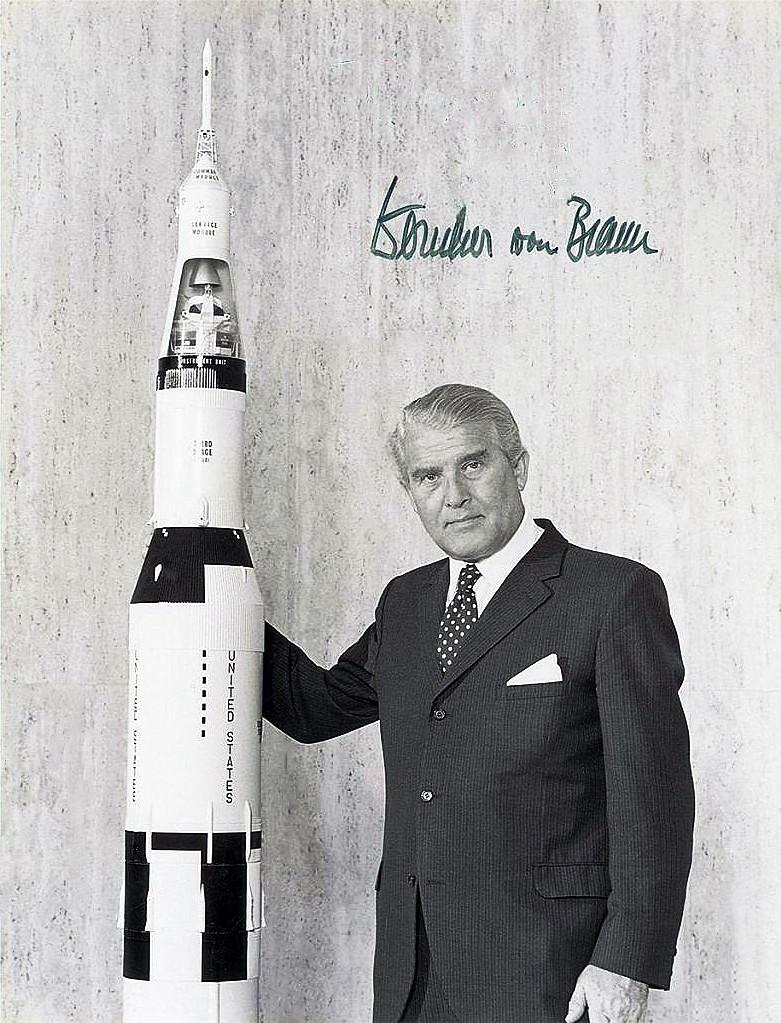 Wernher Von Braun He Conquered Space Documentary 1996