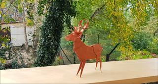 Deer by Tomasz Krawczyk (Instagram: @tk.ori)   by Tomasz Krawczyk Origami