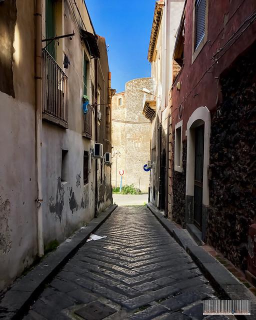 Foreshortening of the Ursino's Castle #Catania #Sicilia #Italia .