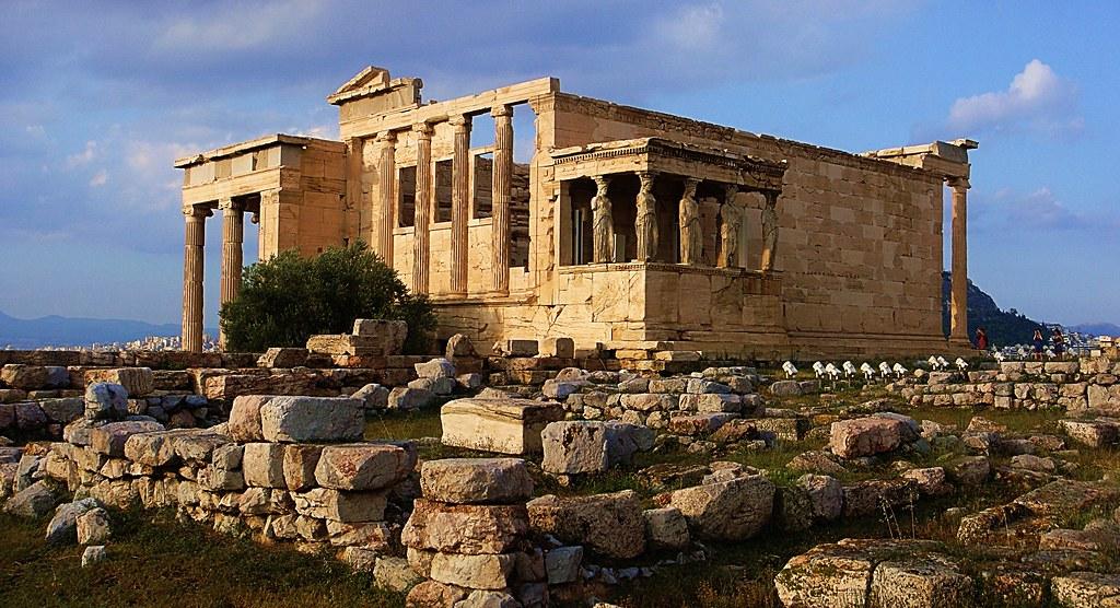 Erecteion | El Erecteion es un templo griego erigido en el l… | Flickr