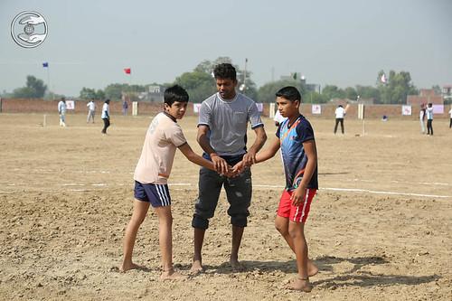 Wrestling by kids