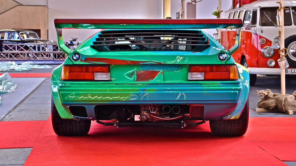 Andy Warhol BMW M1 1979