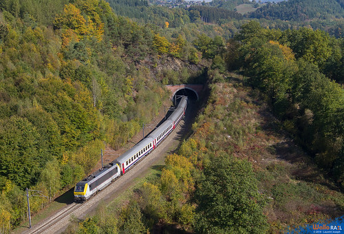 3009 cfl ic113 ligne 42 la gleize 9 octobre 2018 laurent joseph www wallorail be