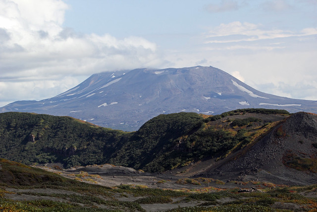 92. View Of Maly Semyachik Volcano 1560m, On The Way To The Base Of Karymsky Volcano, South Kamchatka, Russia
