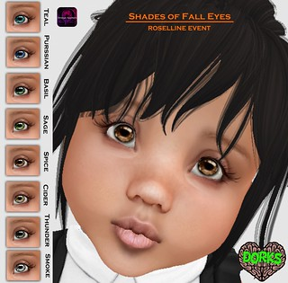 DoRks Shades of Fall Eyes Vendor @ Roselline Event Oct. 25th