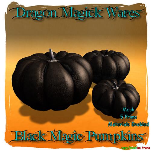 Black Magick Pumpkins Ad