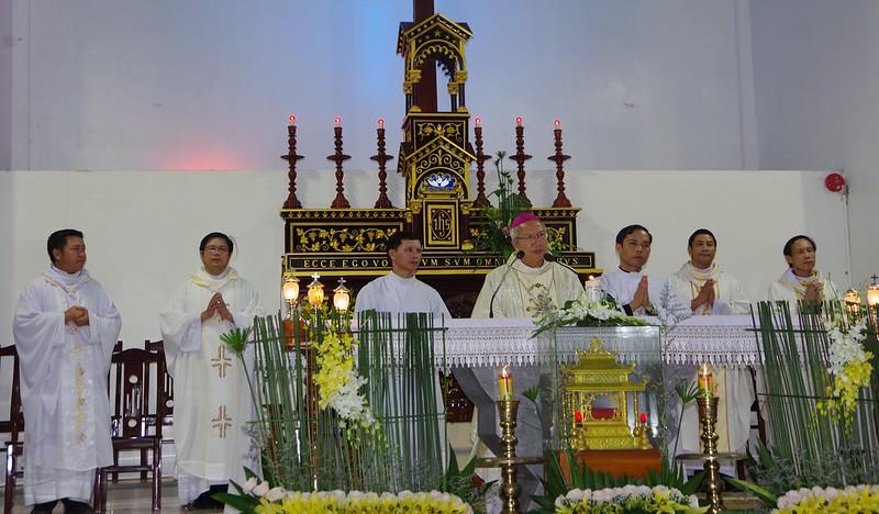Lễ ra mắt TNTT xứ  đoàn Đa Minh Tân Phong, QB (10)