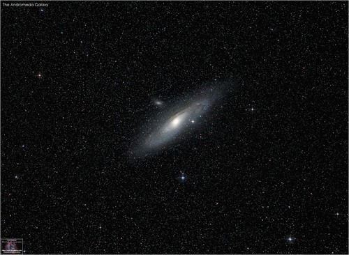 Andromeda Galaxy - A Wide-Field View | by The Dark Side Observatory
