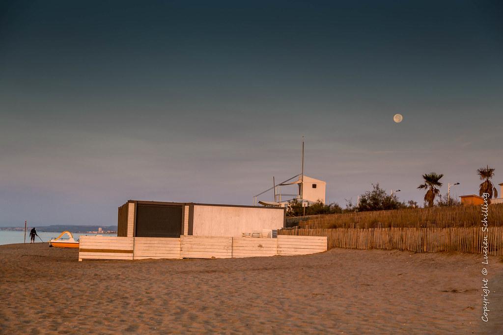 Sunrise at Portiragnes-plage