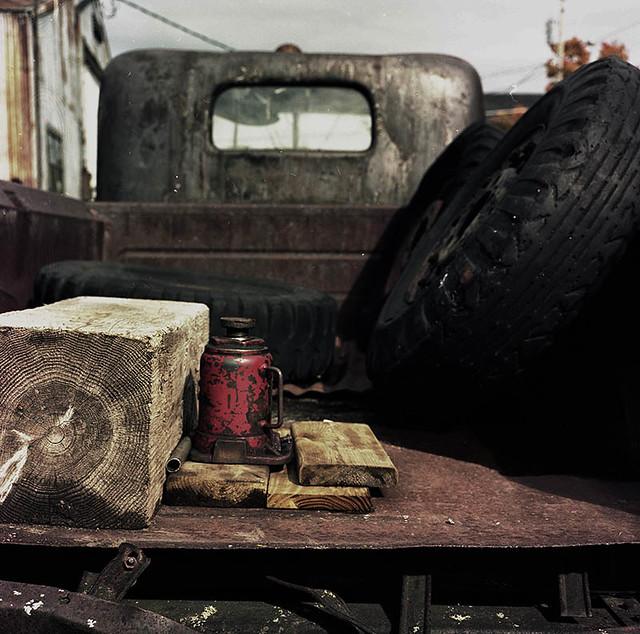 Truck Bed-Ahmeek, Keweenaw Peninsula