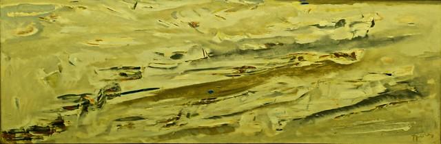 Le Glacier (1963) - Arpad Szenes (1897-1985)