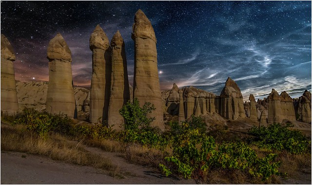 Cappadocian night