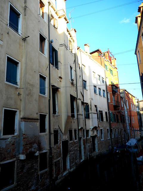 Houses of Jewish ghetto in Venice