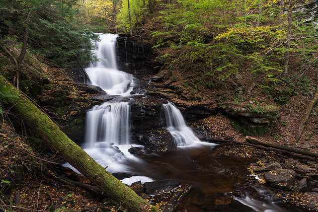 Autumn at Tuscarora Falls