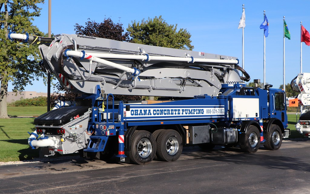 Ohana Concrete Pumping by Putzmeister | Concrete pump truck … | Flickr