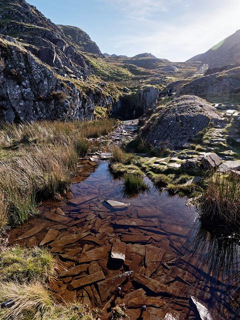 Cwmorthin slate quarry near Blaena Festiniog