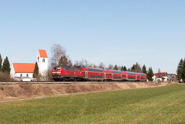 218 436 mit IRE, Oberzell