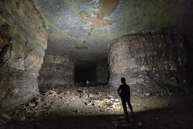 Quarry, St. Louis limestone, Putnam County, Tennessee 1