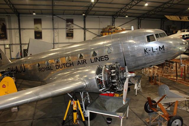 Inside Hangar T2: KLM's 1934 Douglas DC-2 'Uiver'