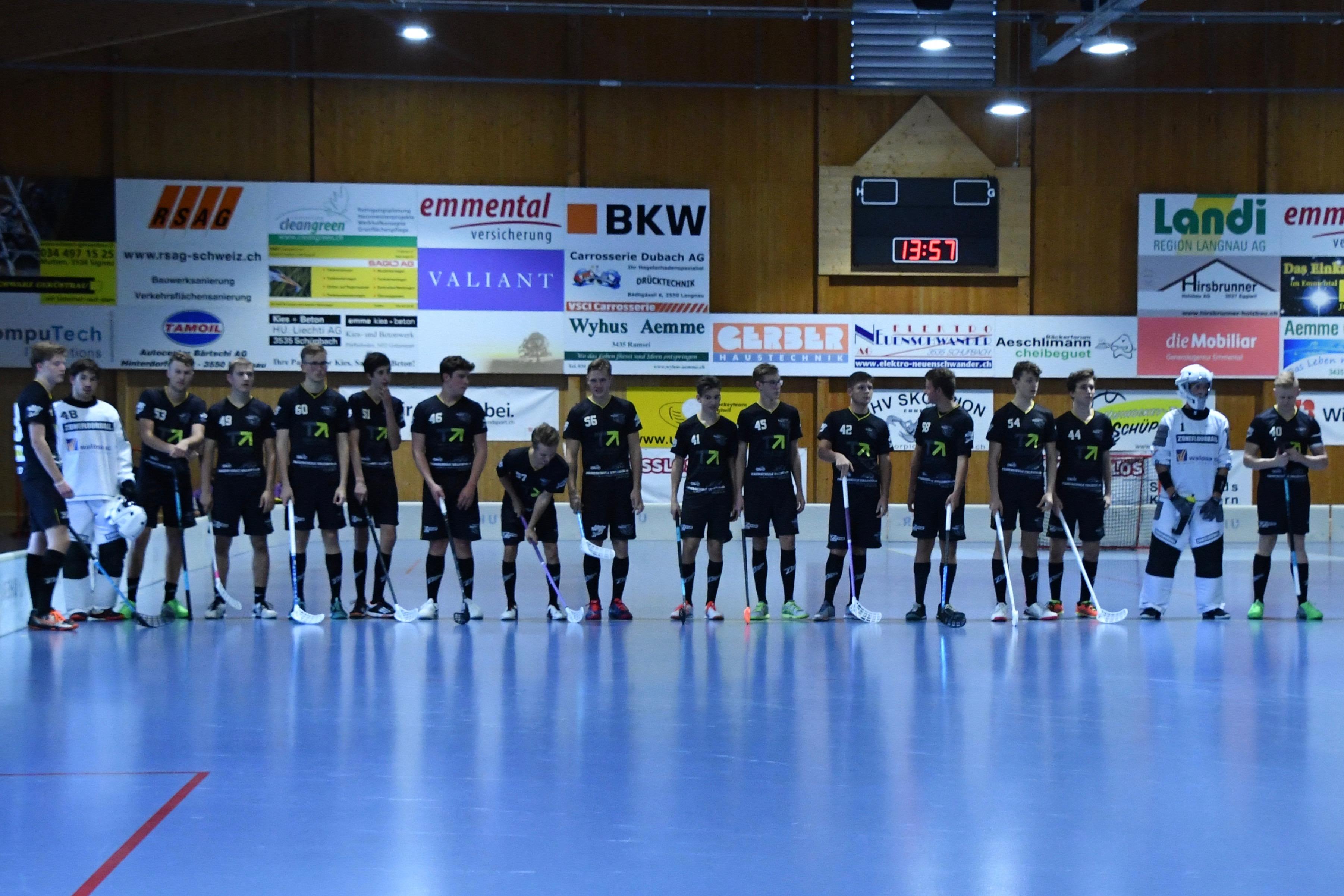 Junioren U21 - UHC Konolfingen Lions Saison 2018/19