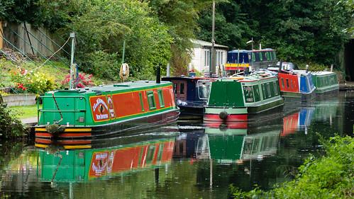 Canal scene, Newbridge