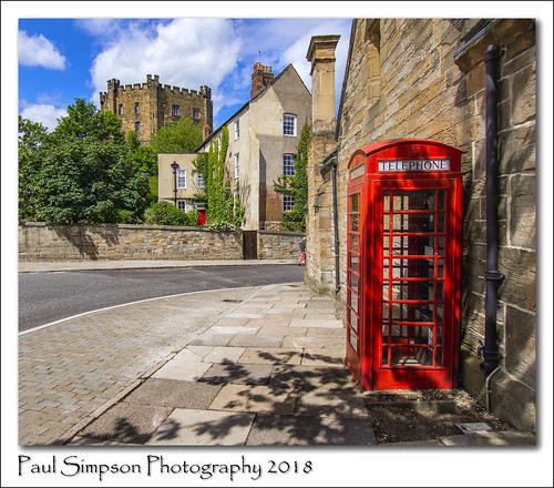 durham imagesof imageof photoof photosof city paulsimpsonphotography phonebox redphonebox telephone telecommunication telecom britishtelecom bt durhamcastle england northeastengland sunshine summer citycentre cityofdurham drainpipe sonya77 summertime summerinengland iconic icon iconofbritain englishess bluesky sky telephonebox phonekiosk telephonekiosk road building tree sunnyweather brightweather countydurham