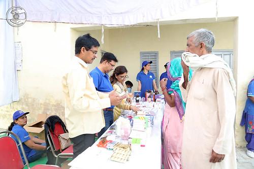Dispensary in Bodwal Majri Village