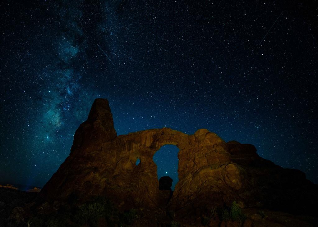 Turret Arch Utah Milkyway