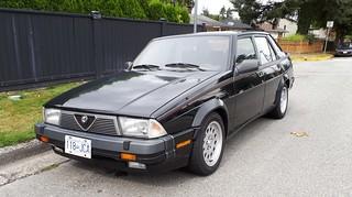 in stock 27ca2 a8960 1989 Alfa Romeo Milano 3.0 V6 Verde | Here's my first ever s ...