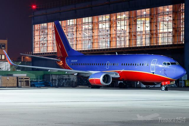 Untitled (Southwest Airlines)   Boeing 737-3H4   N620SW   BUD/LHBP