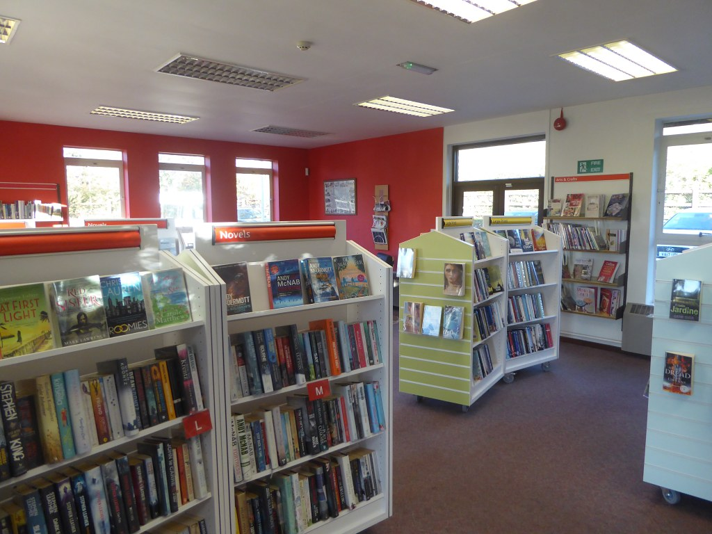 In Prestbury library | By a nice chain of co-incidences, the