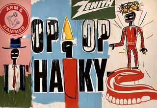OP OP, 1984, Jean-Michel Basquiat & Andy Warhol